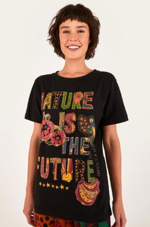 T-shirt Média Nature is The Future