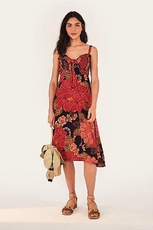 Vestido Cropped Floral Onçado