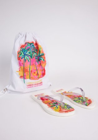 Kit Chinelo e Bag