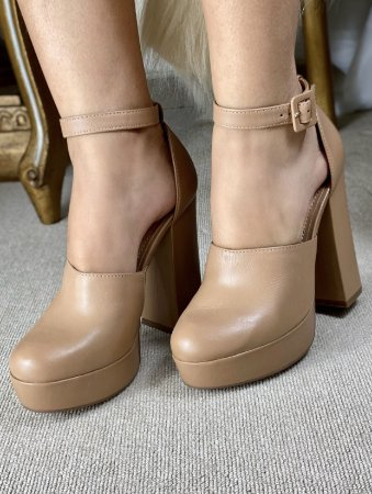 Sapato Tabita Nude