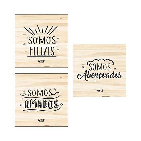Kit Plaquinhas - Somos