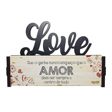 Nome Decorativo - (Love) Nunca Esqueça