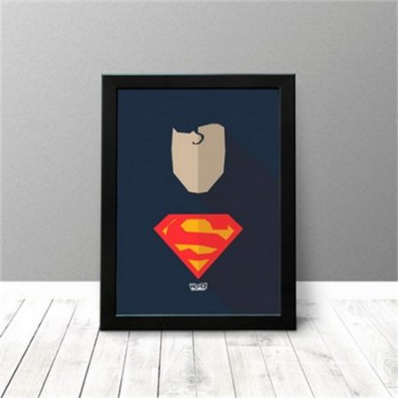 Quadro Criativo - Superman
