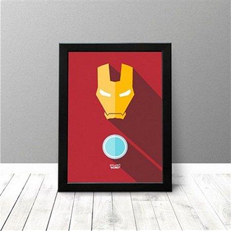 Quadro Criativo - Homem de Ferro