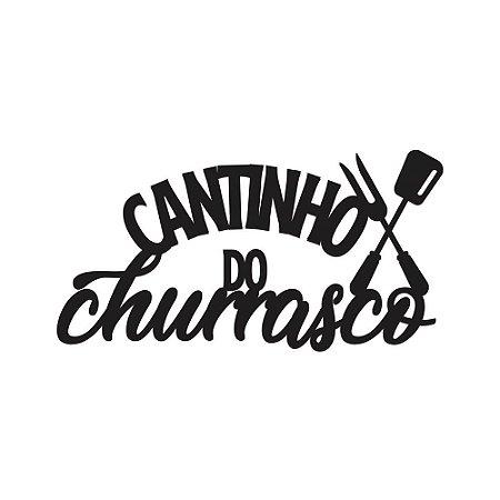 Nome de Parede - Cantinho do Churrasco