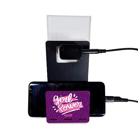 Porta-carregador - Girl Power