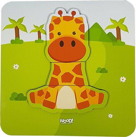 Quebra-Cabeça Safári - Girafinha