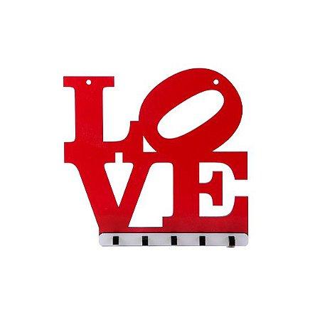 Porta-Chaves de Parede - Love