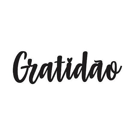 Letreiro - Gratidão