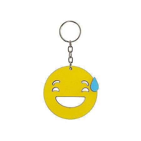 Chaveiro Emoji - Nervoso
