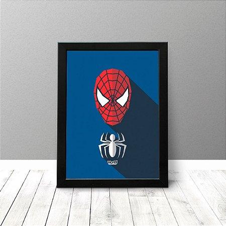 Quadro Criativo - Homem Aranha