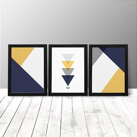 Kit Quadros Criativos - Geométrico