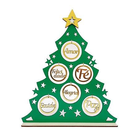 Árvore de Natal - Bolinhas