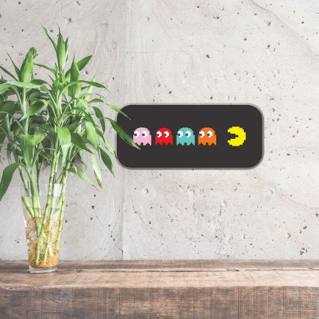 Placa Divertida - Pac-Man