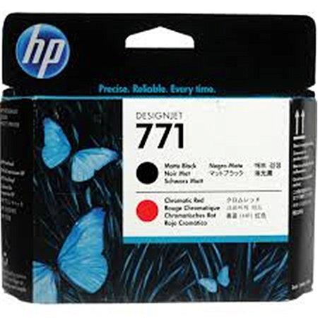 Cabeça impressão HP 771A Preto Fosco/Vermelho PLUK