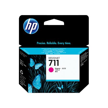 Cartucho de tinta HP 711 Magenta PLUK 29ml