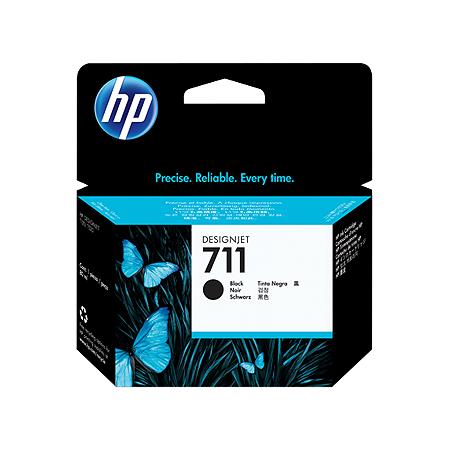 Cartucho de tinta HP 711 Preto PLUK 80ml