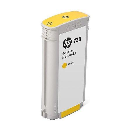 Cartucho de Tinta HP 728 Amarelo PLUK 130 ml