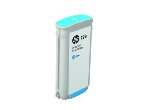Cartucho de Tinta HP 728 Ciano PLUK 130 ml
