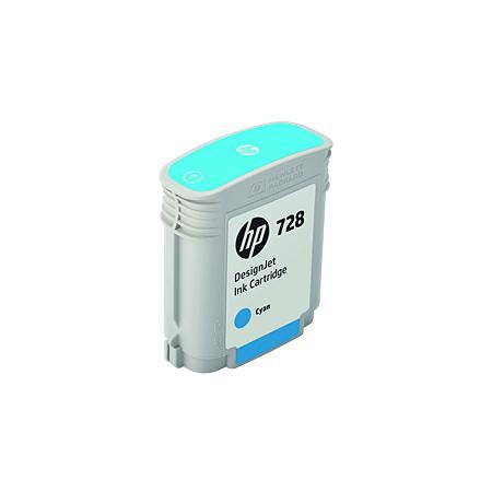 Cartucho de Tinta HP 728 Ciano PLUK 40 ml