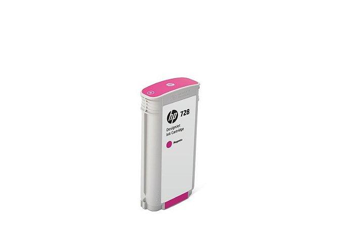 Cartucho de Tinta HP 728 Magenta PLUK 130 ml