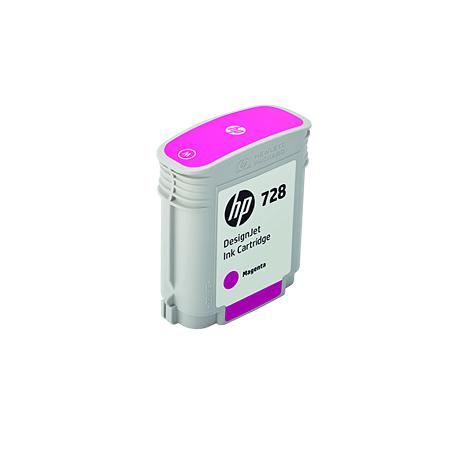 Cartucho de Tinta HP 728 Magenta PLUK 40 ml