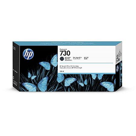 Cartucho de tinta HP 730 Preto Fosco PLUK 300 ml