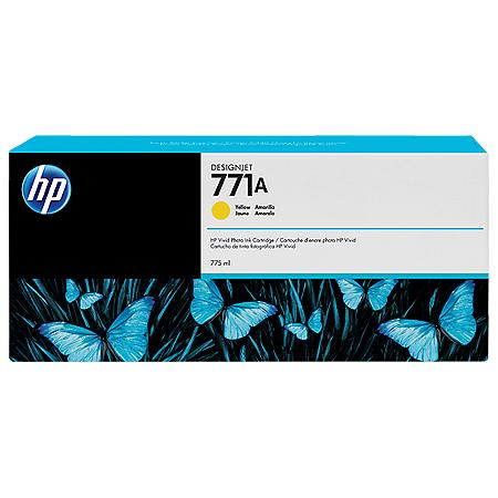 Cartucho de tinta HP 771A amarelo PLUK 775 ml
