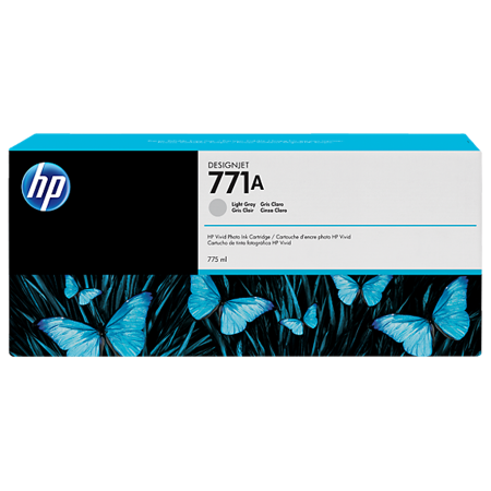 Cartucho de tinta HP 771A cinza claro PLUK 775 ml