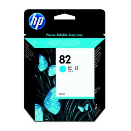 Cartucho de tinta HP 82 Ciano PLUK 69ml