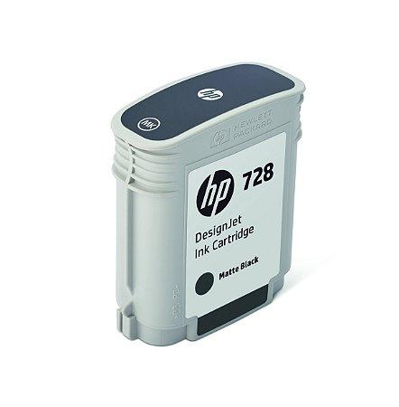 Cartucho preto fosco HP 728 PLUK 69 ml