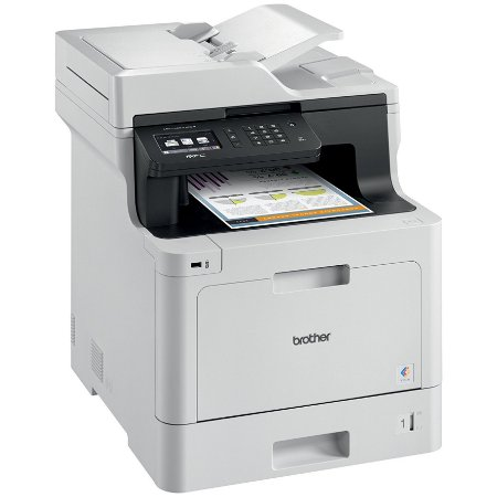 Multifuncional Brother Laser MFCL8610CDW Color (A4) Dup, Wrl