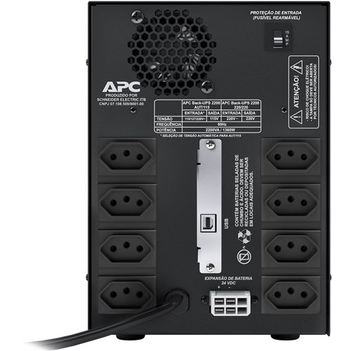 No Break APC BACK-UPS 2200VA Bi/115v Brazil - BZ2200BI-BR