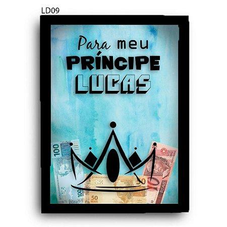 Quadro Cofre Poupança Infantil LDQC12