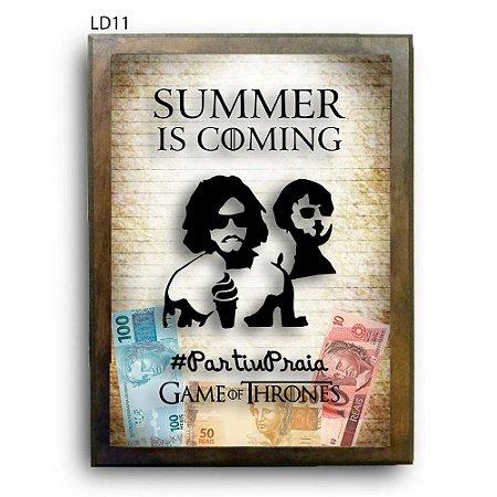 Quadro Cofre GoT Summer is Coming LDQC15