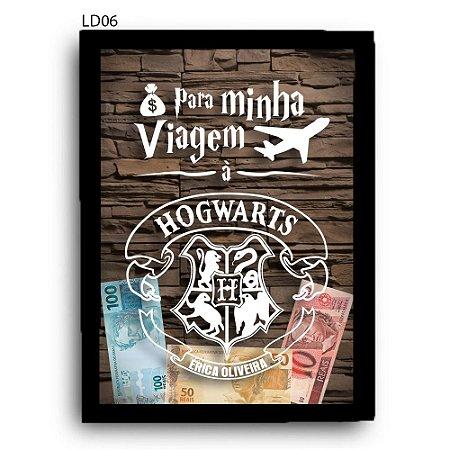 Quadro Cofre Viagem à Hogwarts LDQC17