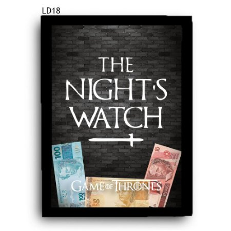 Quadro Cofre GoT Night's Watch LDQC24