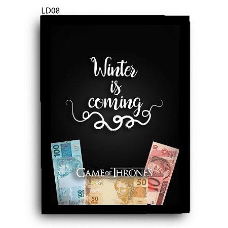 Quadro Cofre GoT Winter is Coming v2 LDQC25