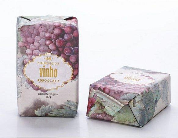 Sabonete Vegetal Madressenza Vinho 180grs