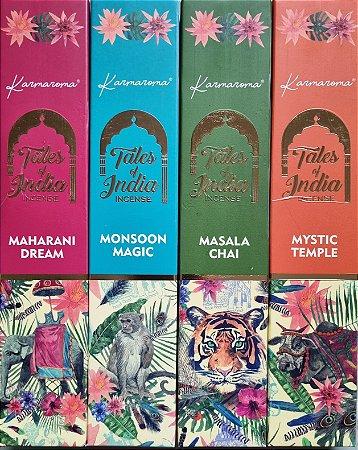 Kit 12 Caixas Incenso Tales of Índia - Variados
