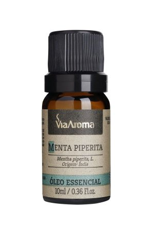Óleo Essencial de Menta Piperita 10ml - Via Aroma