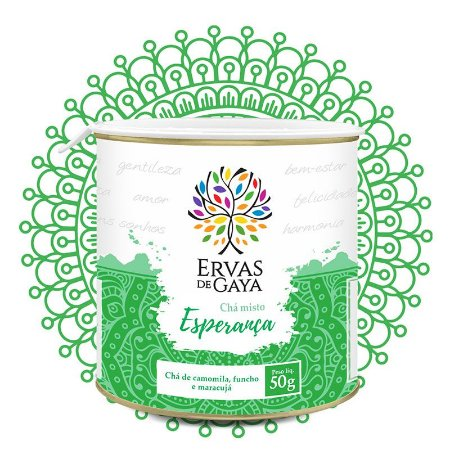 Chá Misto Ervas de Gaya - ESPERANÇA (50g)