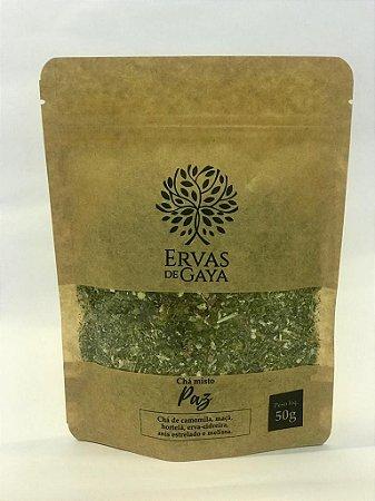Refil Chá Misto Ervas de Gaya - PAZ (50g)