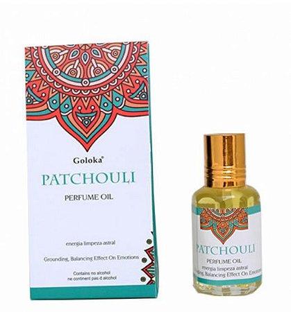 Perfume Oil Goloka PATCHOULI 10ml - Limpeza Astral
