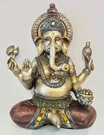 Estátua Ganesha em Resina