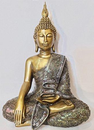 Buda em Resina 34cm