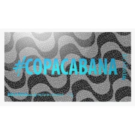Paleta De Contornos Boca Rosa #Copacabana