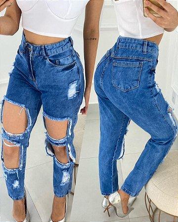 Calça Jeans Destroyd Los Angeles