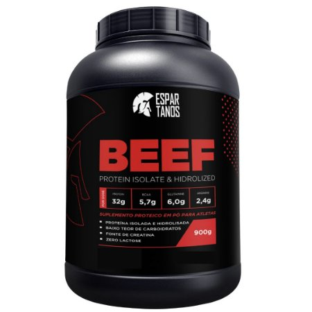 Beef Protein Isolate Hidrolized 900g - Espartanos