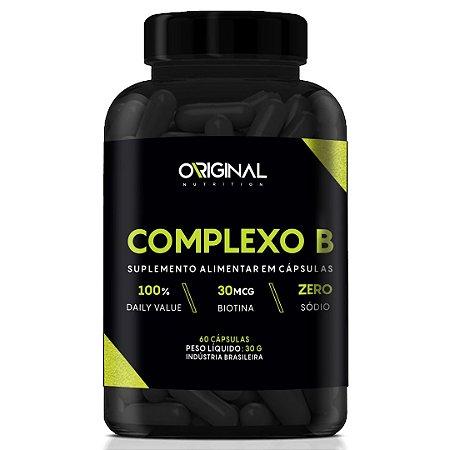 Complexo B 60 Cáps - Original Nutrition